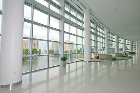New Student Center at the University of Miami